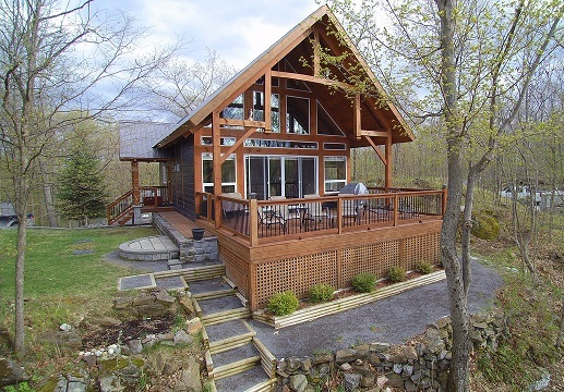 67 Mill Bay Lane Bobs Lake Waterfront Log Home Gurreathomes