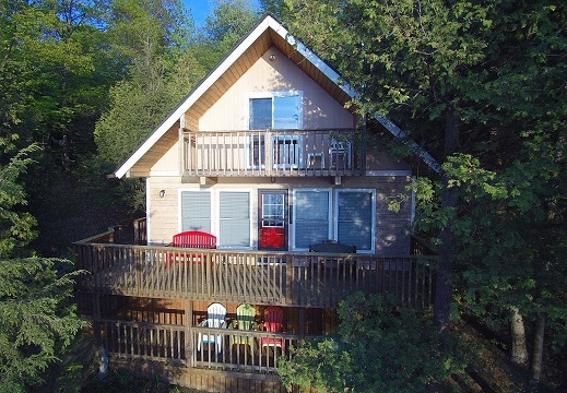 31 Cliff View Lane Buck Lake Waterfront Cottage Gurreathomes